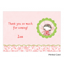 Lady Bug Thank You Cards