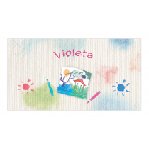 Art Studio for Girls Envelope Sticker