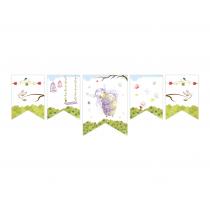 Purple Fairy Decor Banner