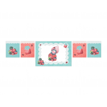Strawberry Decor Banner