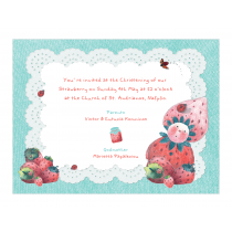 Strawberry Invitation