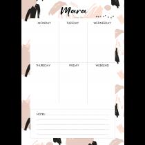 Free Art  Mara Personalized Planner