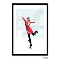 Happiness Art Print | Virginia Romo
