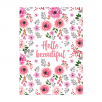 Hello Beautiful Folded Greeting Card