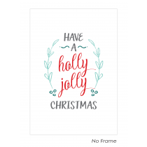 Holly Jolly Christmas Art Print