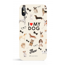 Illove_my dog  Phone Case Dog Lover