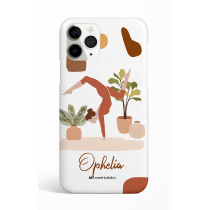Handstand Pose Personalized Phone Case