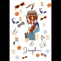 Josephine Modern Art Notebook |  Agenda