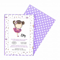 Lilly Box Invitation