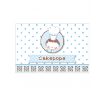 Little Boy Chef Table Tags