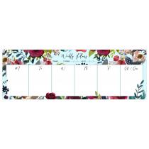 Merlot - Light Blue | Desk Weekly Planner