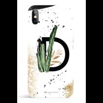 Urban White Monogram iPhone X/XS