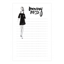 Moving Ahead Notepad | Virginia Romo