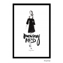 Moving Ahead Art Print | Virginia Romo