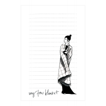 My Fav. Blanket Notepad | Virginia Romo