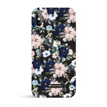 Evening Garden Black PHONE CASE