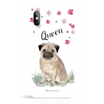 Queen_Pug Phone Case Dog Lover