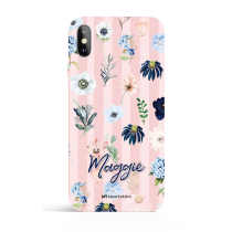 Rain of Flower Dusty Pink Evening Garden PHONE CASE