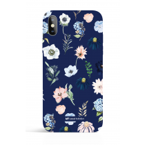Rain of Flower Blue Evening Garden PHONE CASE