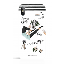 Ready to Share Social Media Hastang Name Phone Case