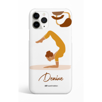 Scorpio Pose Personalized Phone Case