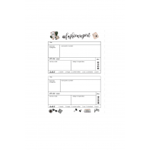 Social Media Planner Hashtag Personalized