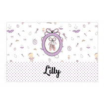 Lilly Bubble Labels