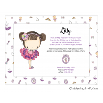 Lilly Envelope Invitation
