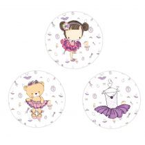 Lilly Circle Stickers