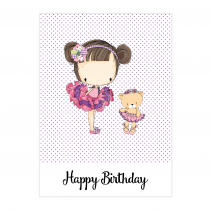 Lilly Birthday Folded Card