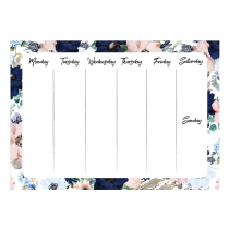 Evening Garden Weekly Planner Orizontial