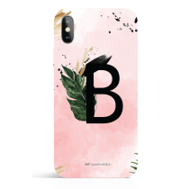 Urban Monogram Watercolor Phone Case