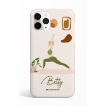 Warrior 1 Pose Personalized Phone Case