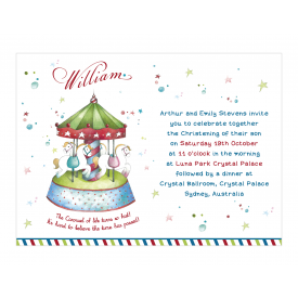 Carousel Invitation