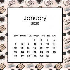 Social Media Calendar 2020   The Desk Calendar