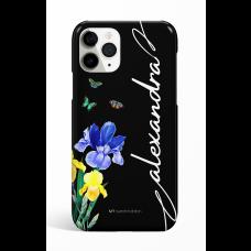 Eden Bouquet of flowers Black Personalized  Phone Case