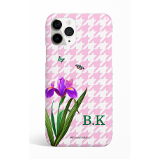 Eden Pink Pie de pule Monogram Phone Case