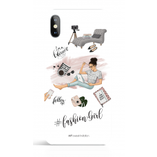 Blogger Girl Hastang Name Phone Case Social Media