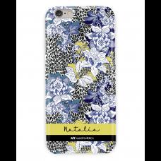 Leopard Blue Floral Poison Case