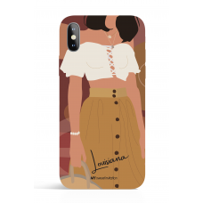 Louiziana Modern Art Phone Case