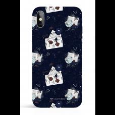 I Love Fall Midnight Chocolate Phone Case