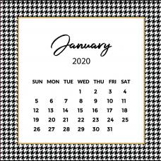 Pie de Pule Calendar 2020 | The Desk Calendar