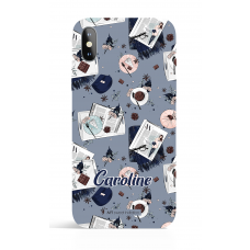 I Love Fall  Sweet Morning Grey Personalized Phone Case