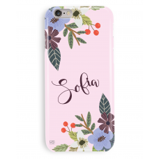 Pink Violeta Personalized Case